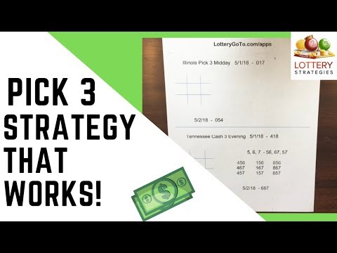 Pick 3 Lotto Systems