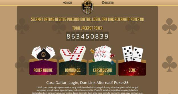 Daftar Poker 88 Judi Poker Online IDN Poker Terpercaya